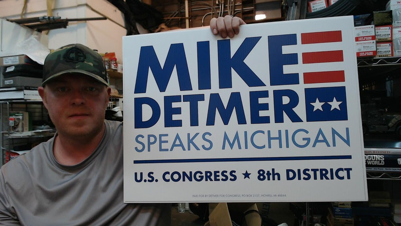 2A Patriot : US Congressional Candidate Mike Detmer : Lansing MI Rally