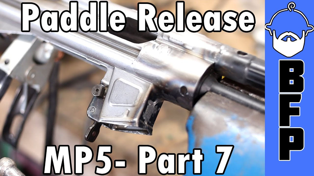 MP5 Build Part 7 - Paddle Mag Catch