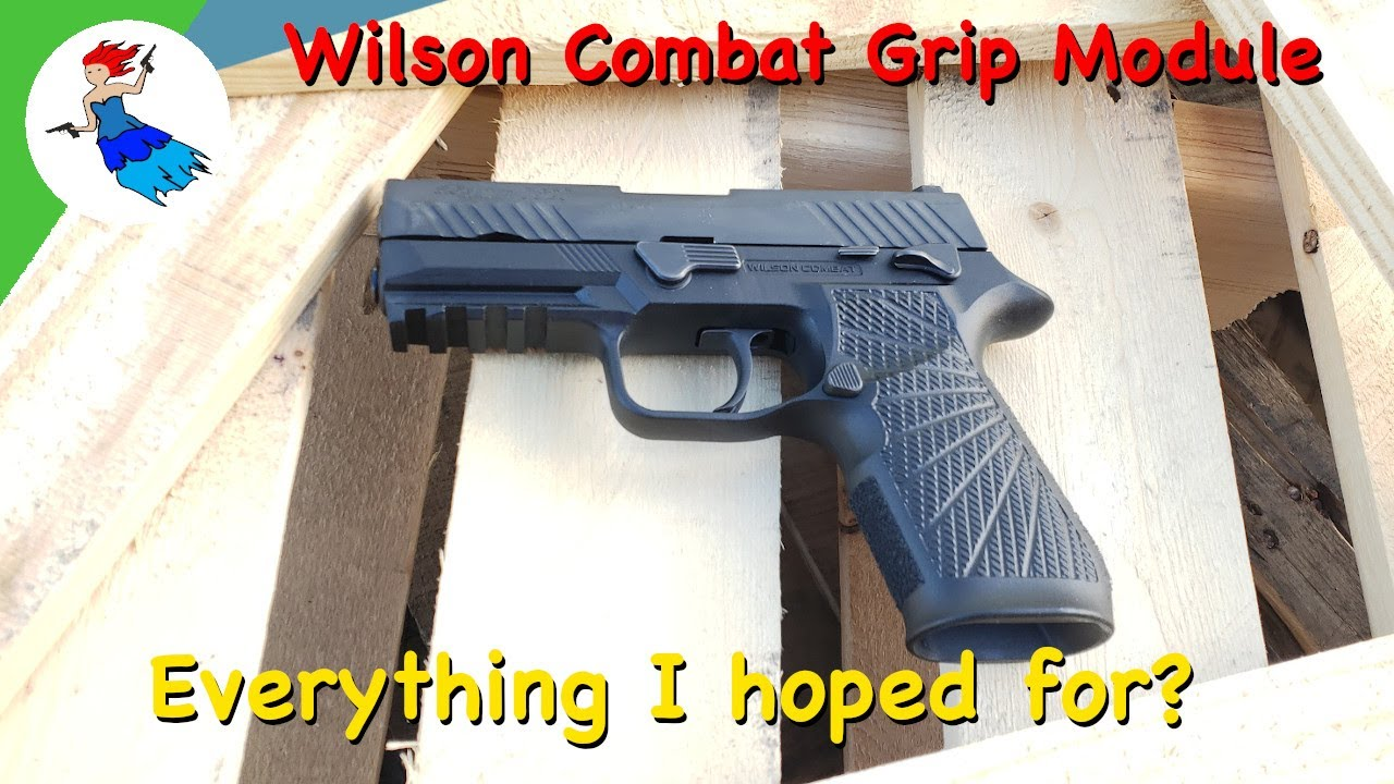 WILSON COMBAT WCP320 GRIP MODULE // Is this the best P320 grip module or just aftermarket accessory?